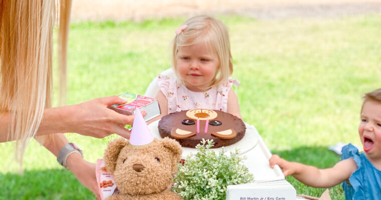 claire bear's second birthday!