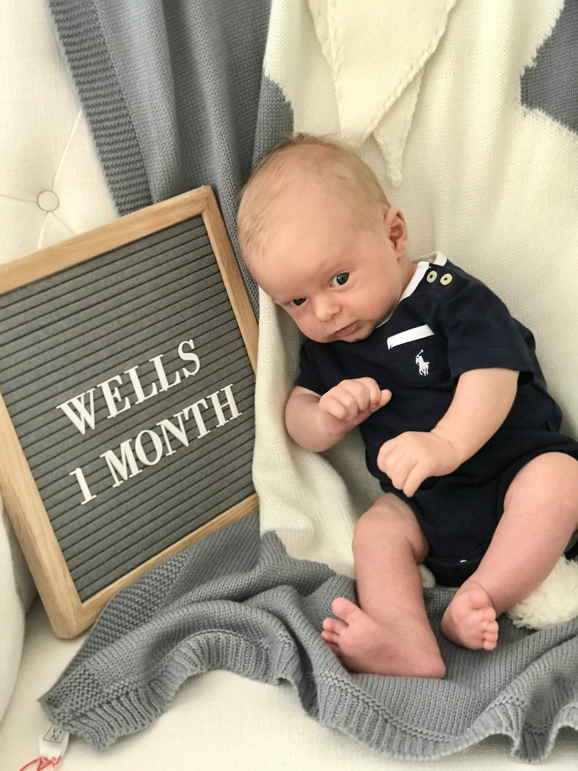 wells one month