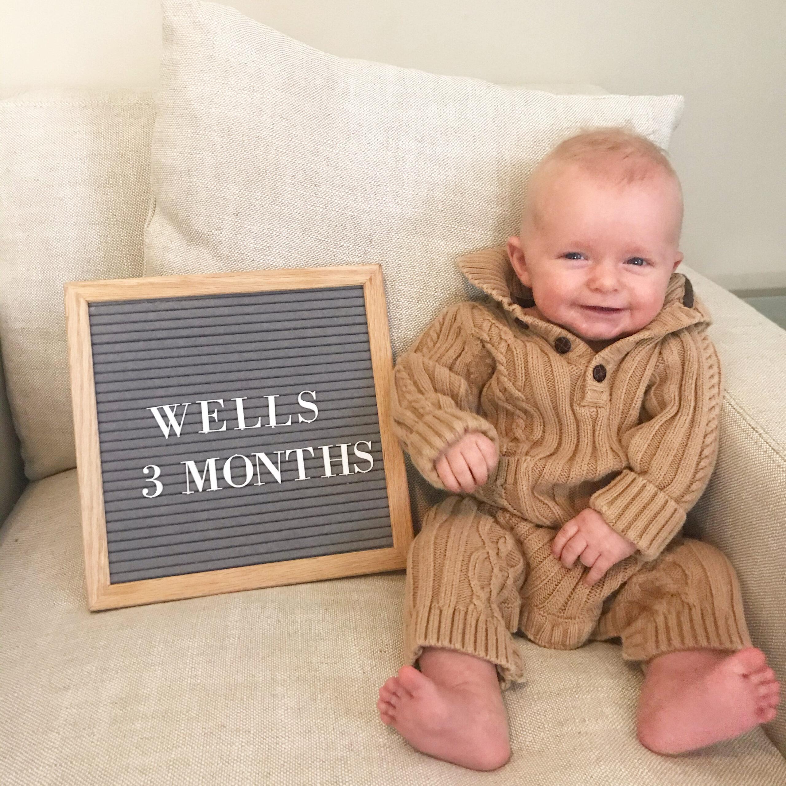 wells 3 months!