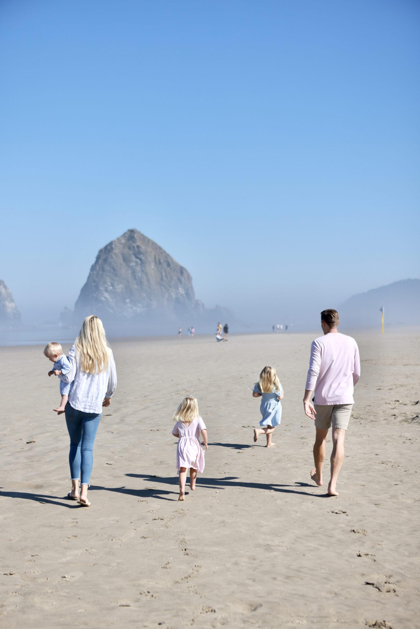 Cannon Beach Dunn Family Trip