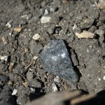 st mary cemetery star glass bottom of drinking glass in plowed field