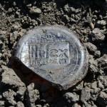 st mary cemetery vintage 1 quart Hi-Lex bleach bottle Reg. US.Pat.OFF. 1940's IMG_8721