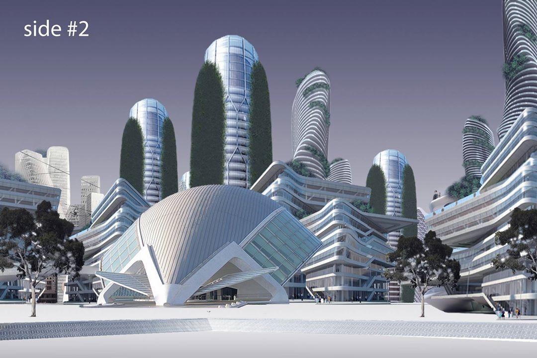 Isu City Concept - Side #2
