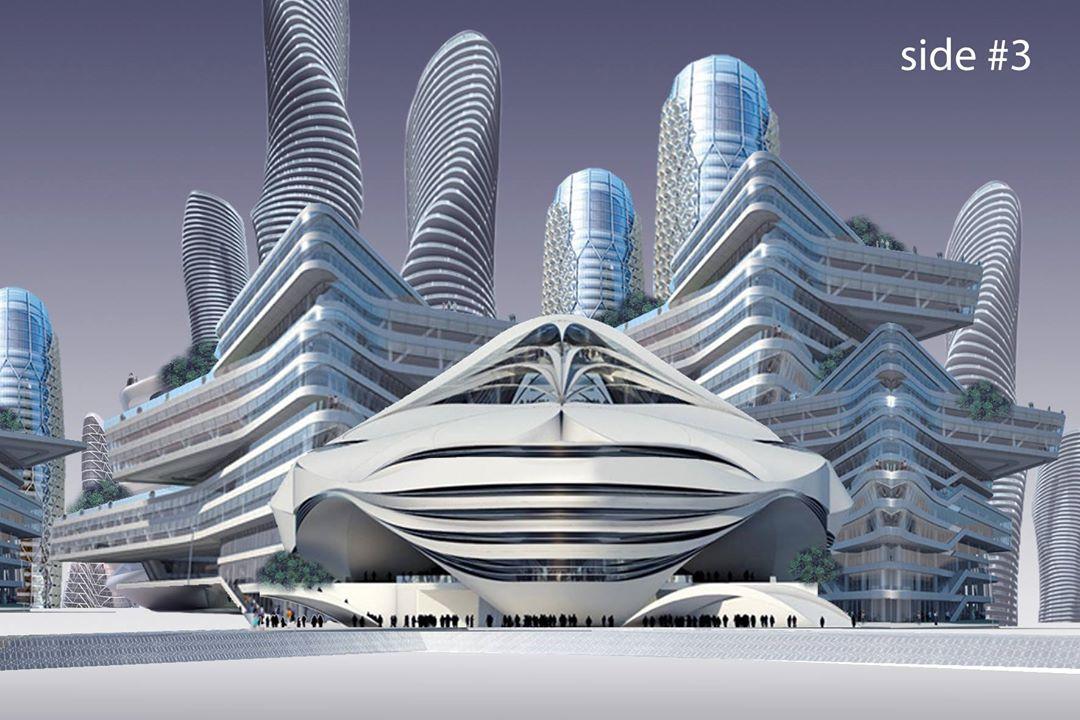 Isu City Concept - Side #3