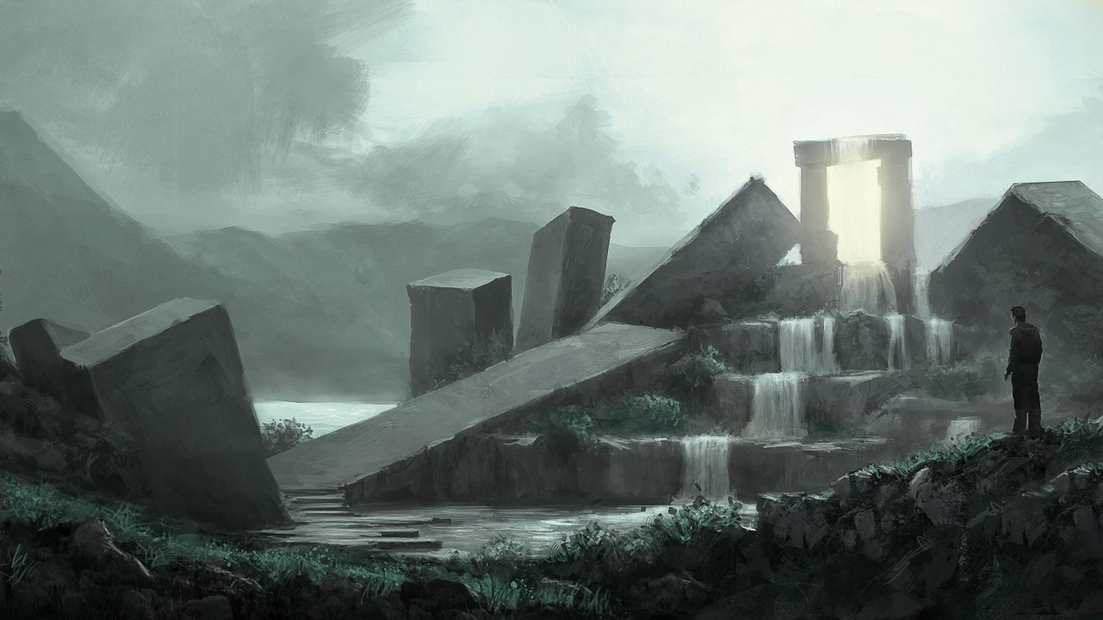 The Lost Archive - Concept Art