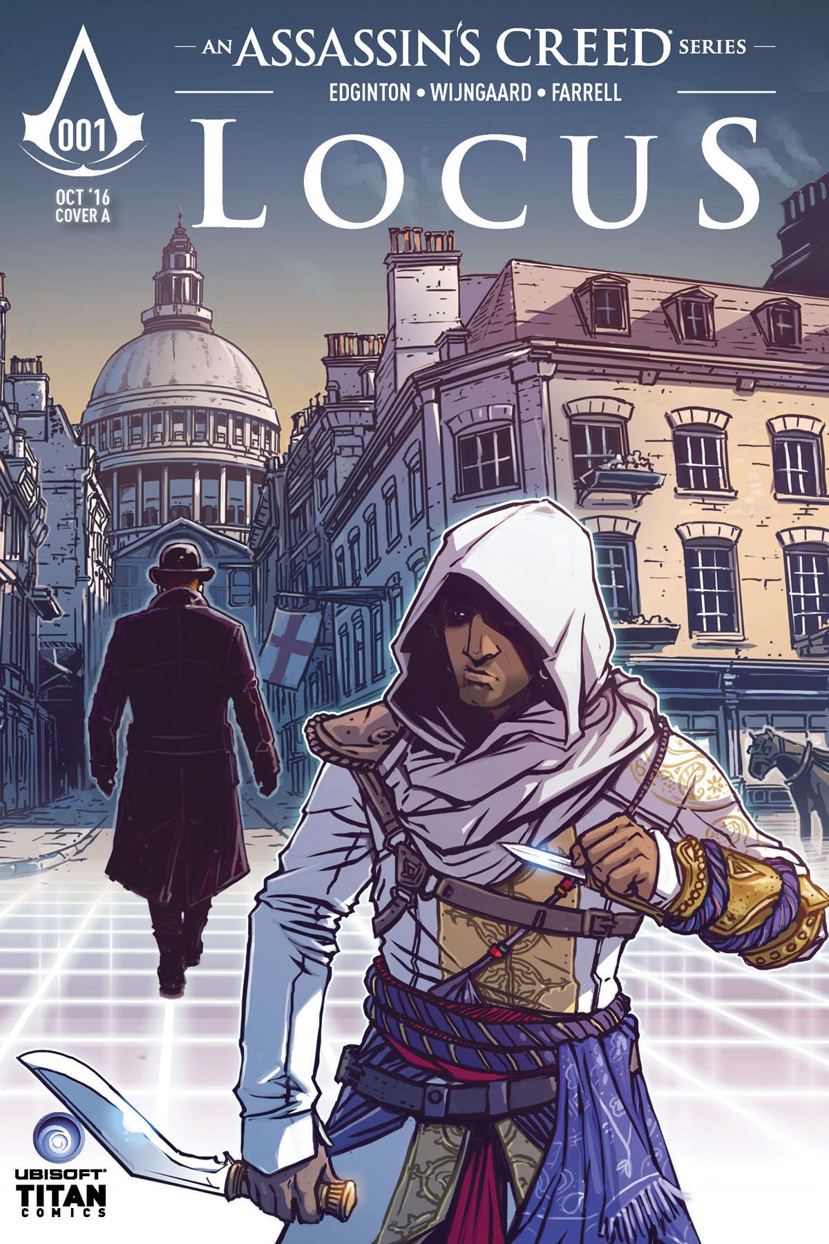 LOCUS 001 - COVER A