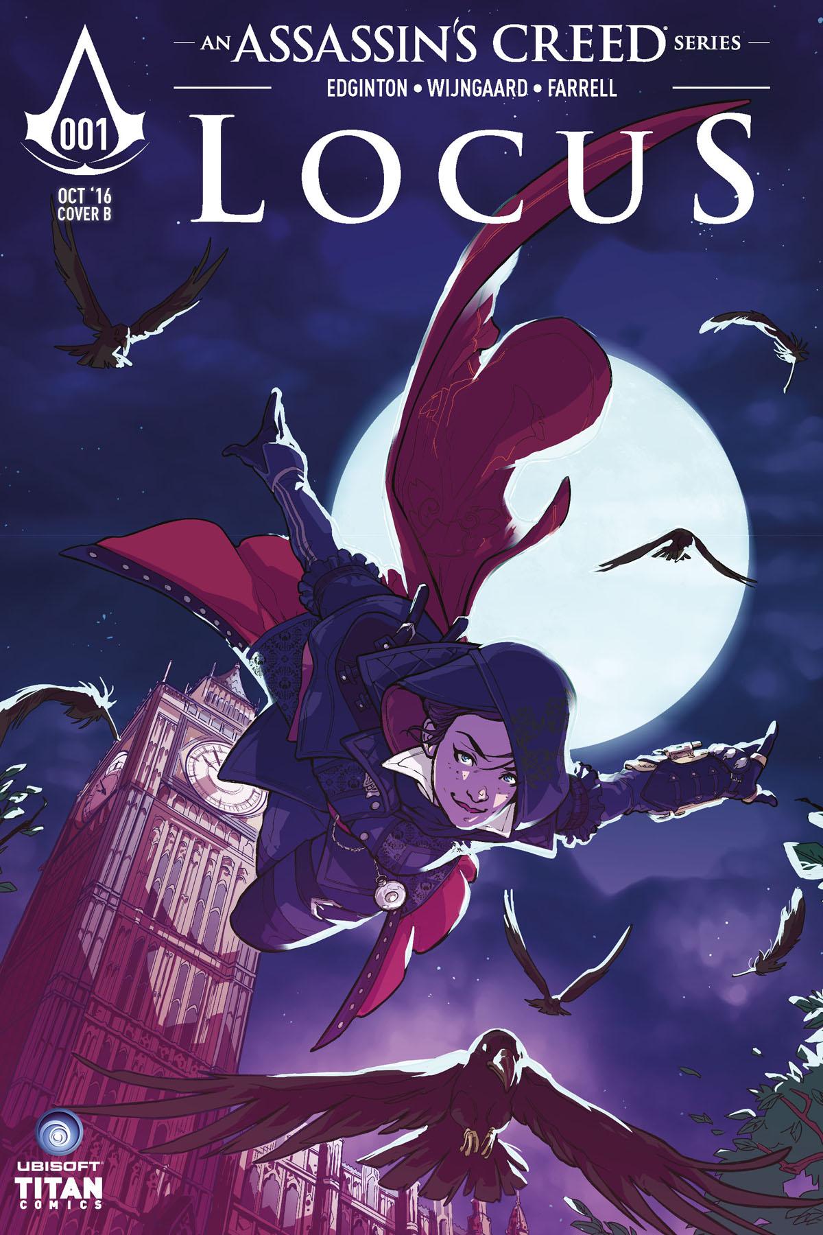 LOCUS 001 - COVER B
