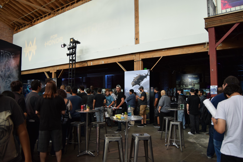 Ubisoft Lounge