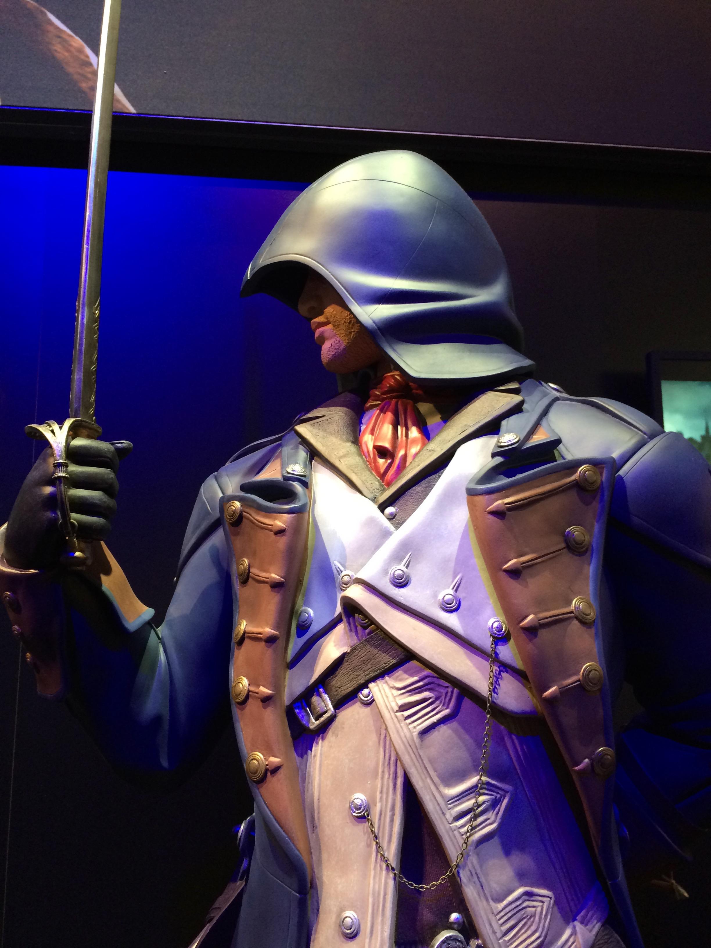 Arno Dorian life-sized statue