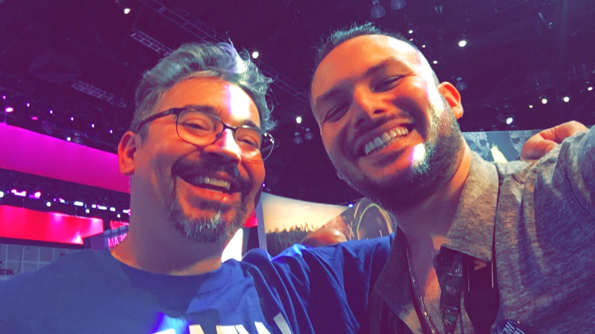 With Gabe Graziani
