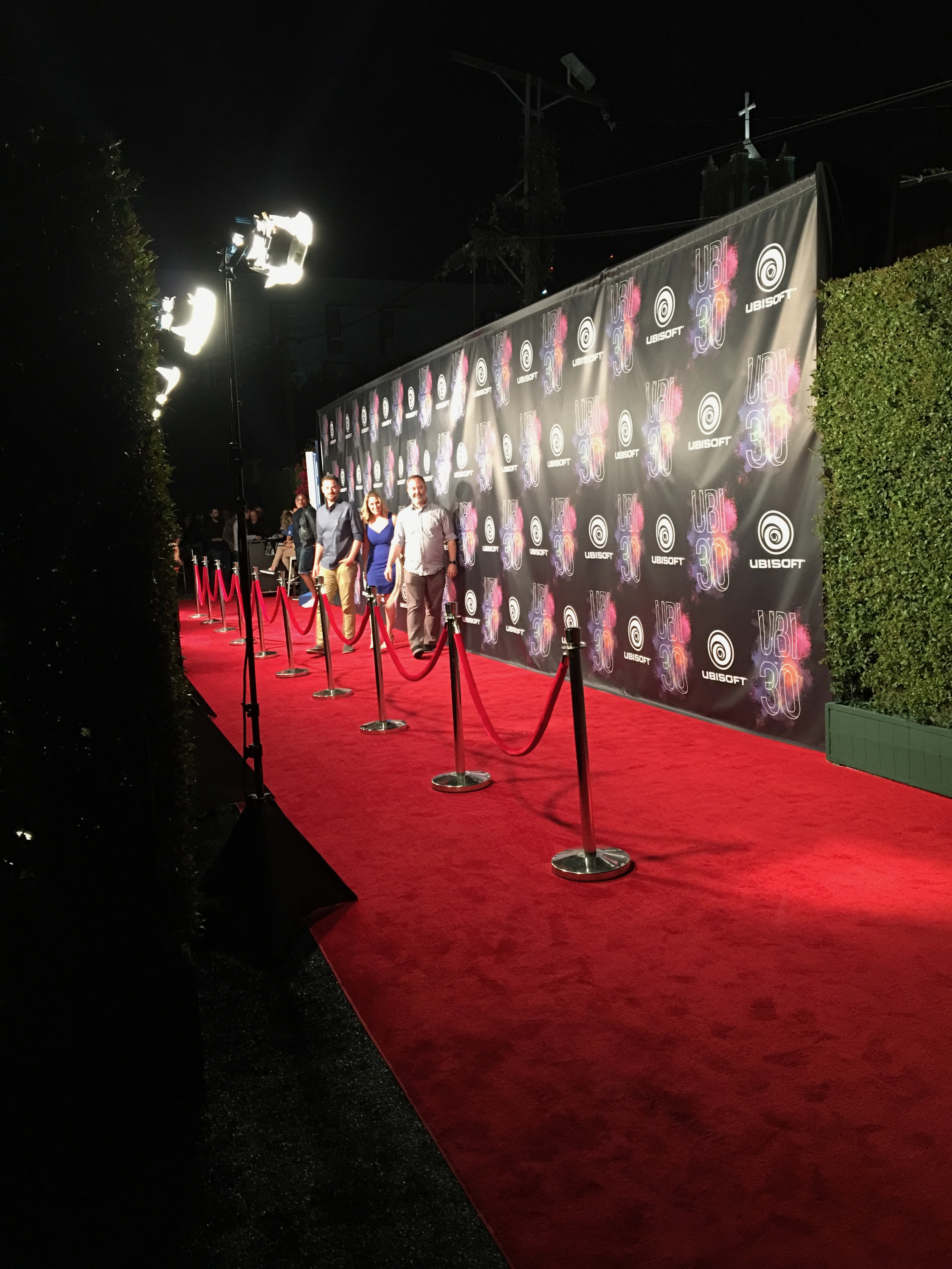Ubi 30 Party in Hollywood / The Red Carpet