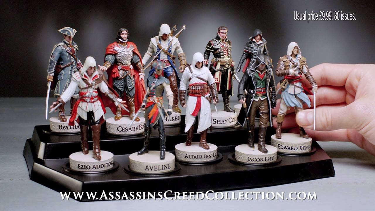 Assassin's Creed Collection – First Issue + Trailer Sneak-Peek