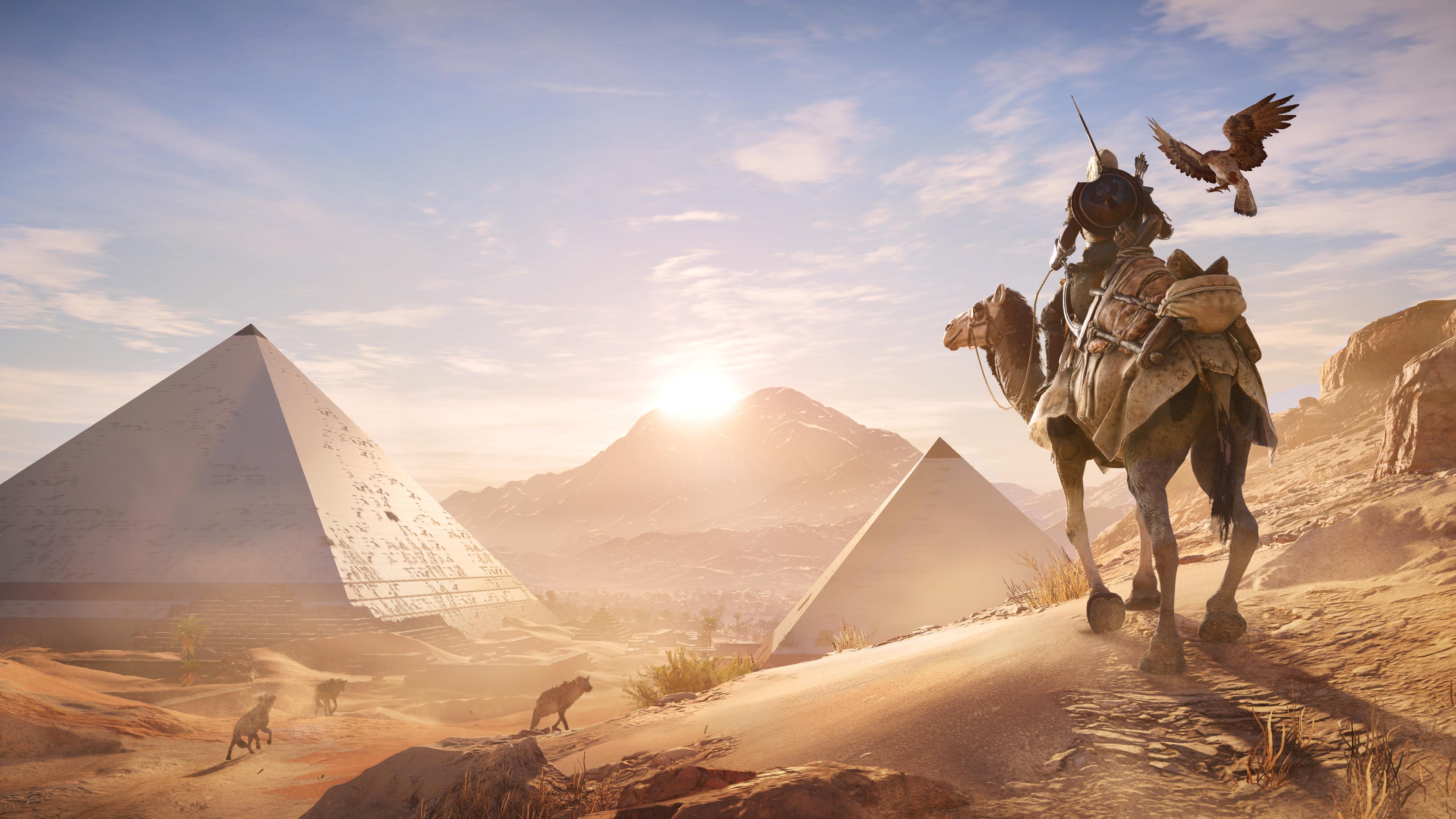 Sneak Peek: Assassin's Creed: Origins Gameplay + Free Roam