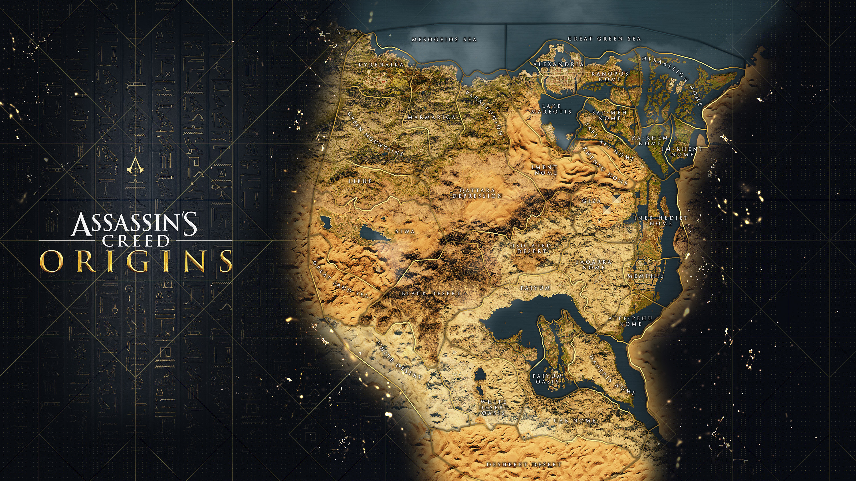 Codex Assassin S Creed Origins World Map