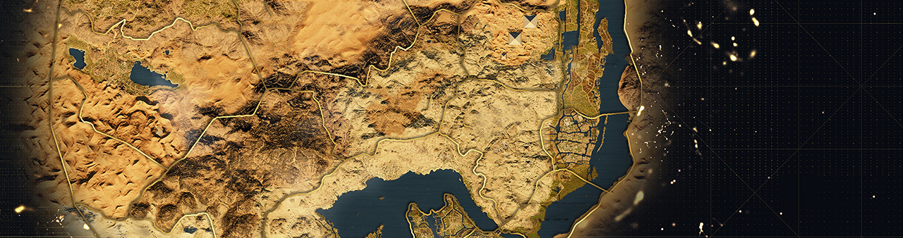 Assassin's Creed Origins – World Map