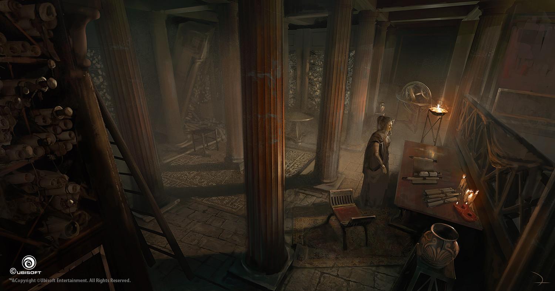 martin-deschambault-aco-assassin-hideout-library-mdeschambault