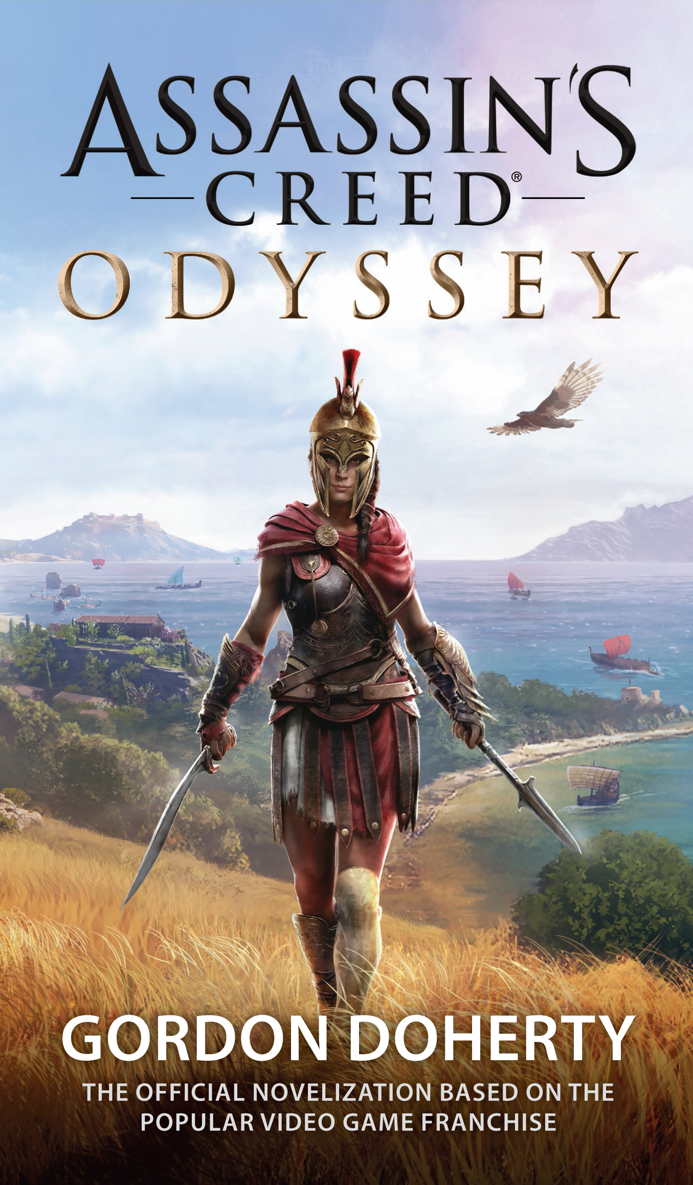 Codex Assassin S Creed Odyssey Novel Cover Art Revealed