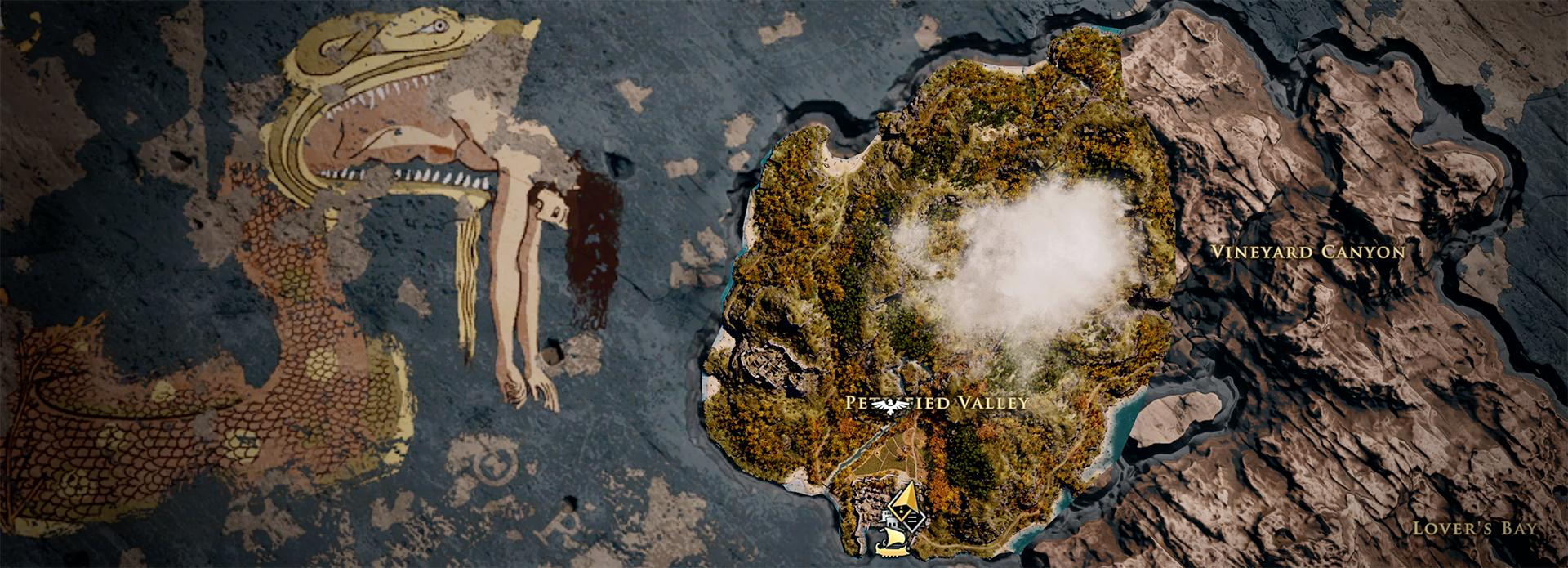 Codex Assassin S Creed Odyssey World Map