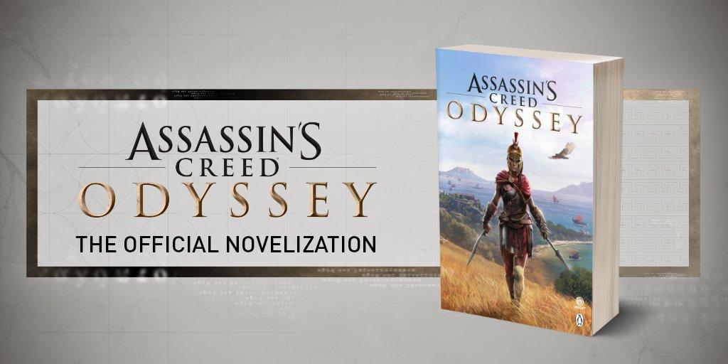 Assassin's Creed Odyssey Novel Cover Art Revealed!