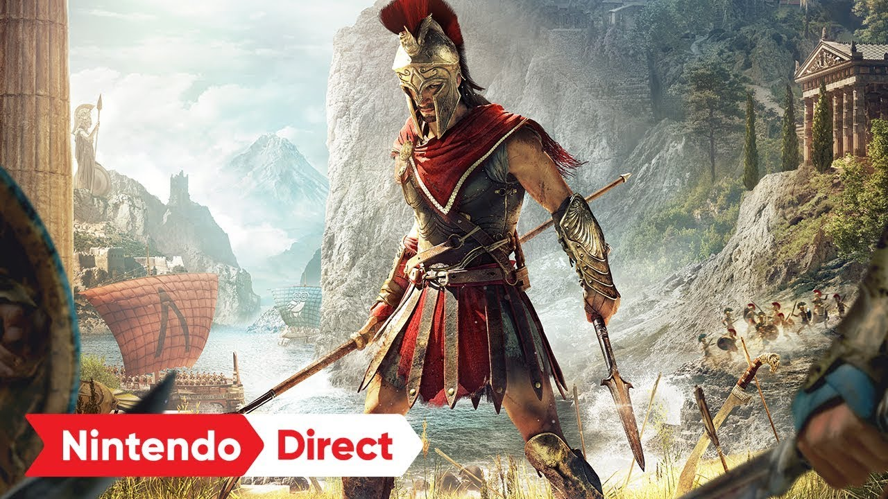 Assassin's Creed Odyssey – Cloud Version for Nintendo Switch Announced!