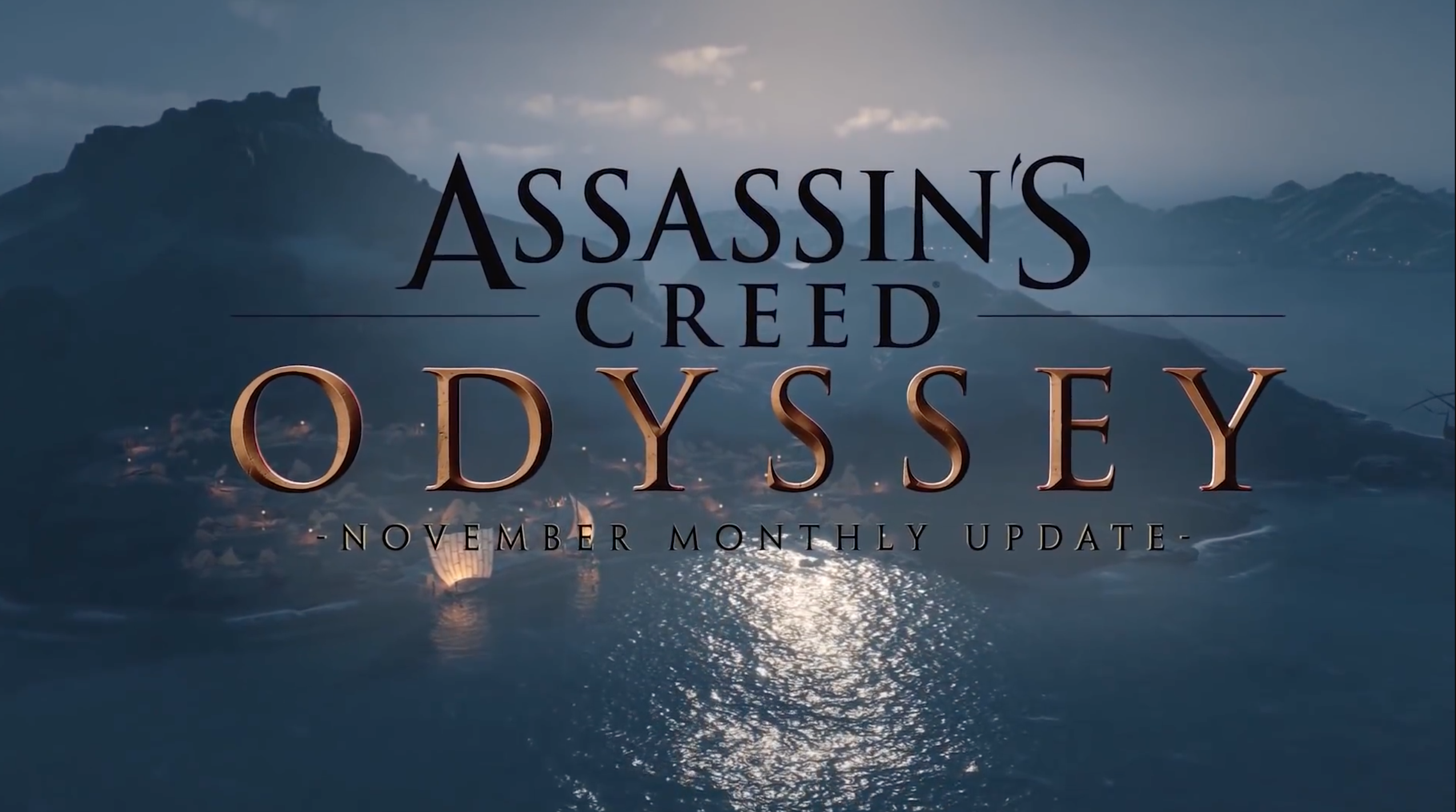 Assassin's Creed Odyssey – November Monthly Update
