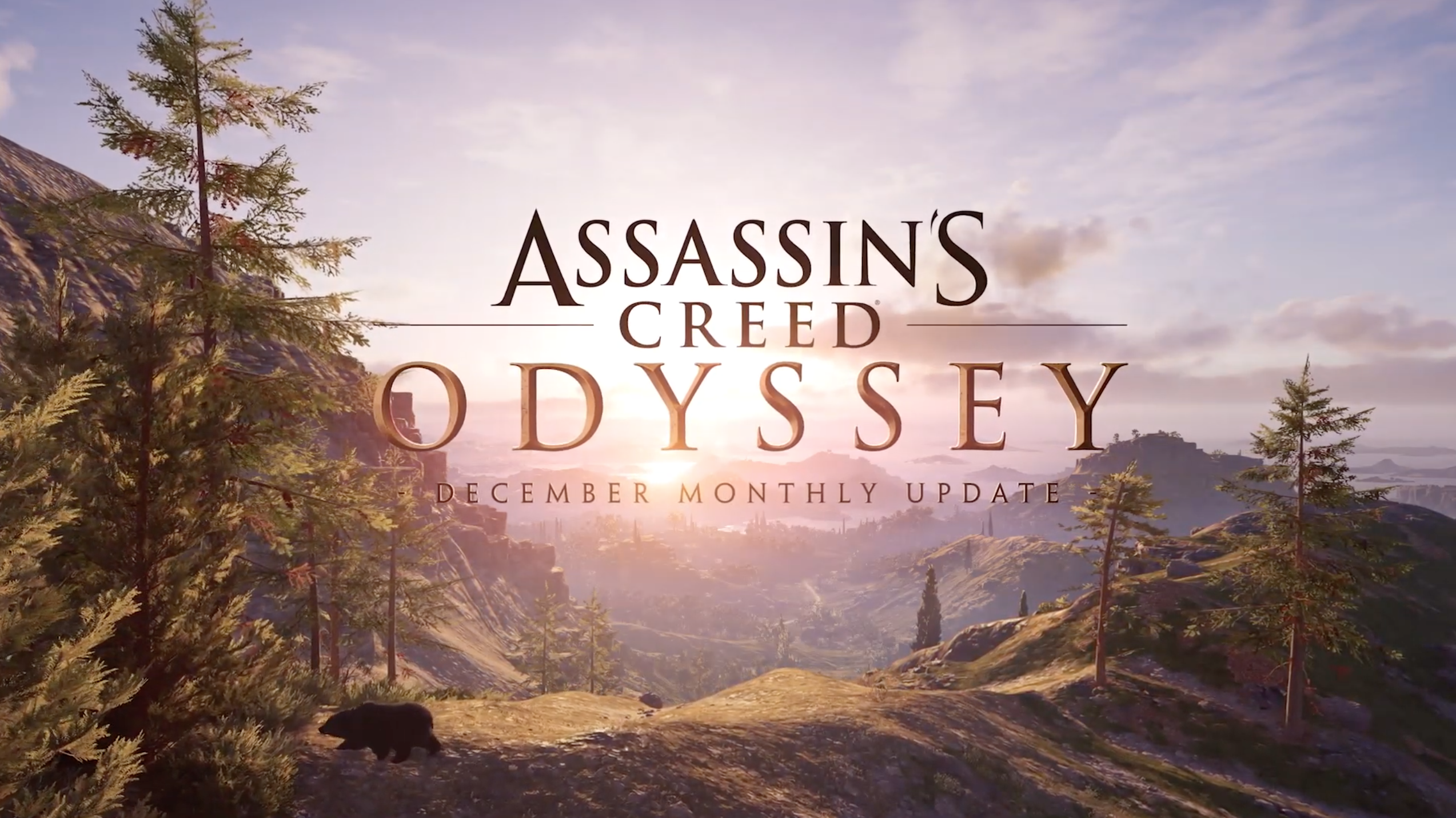 Assassin's Creed Odyssey – December Monthly Update