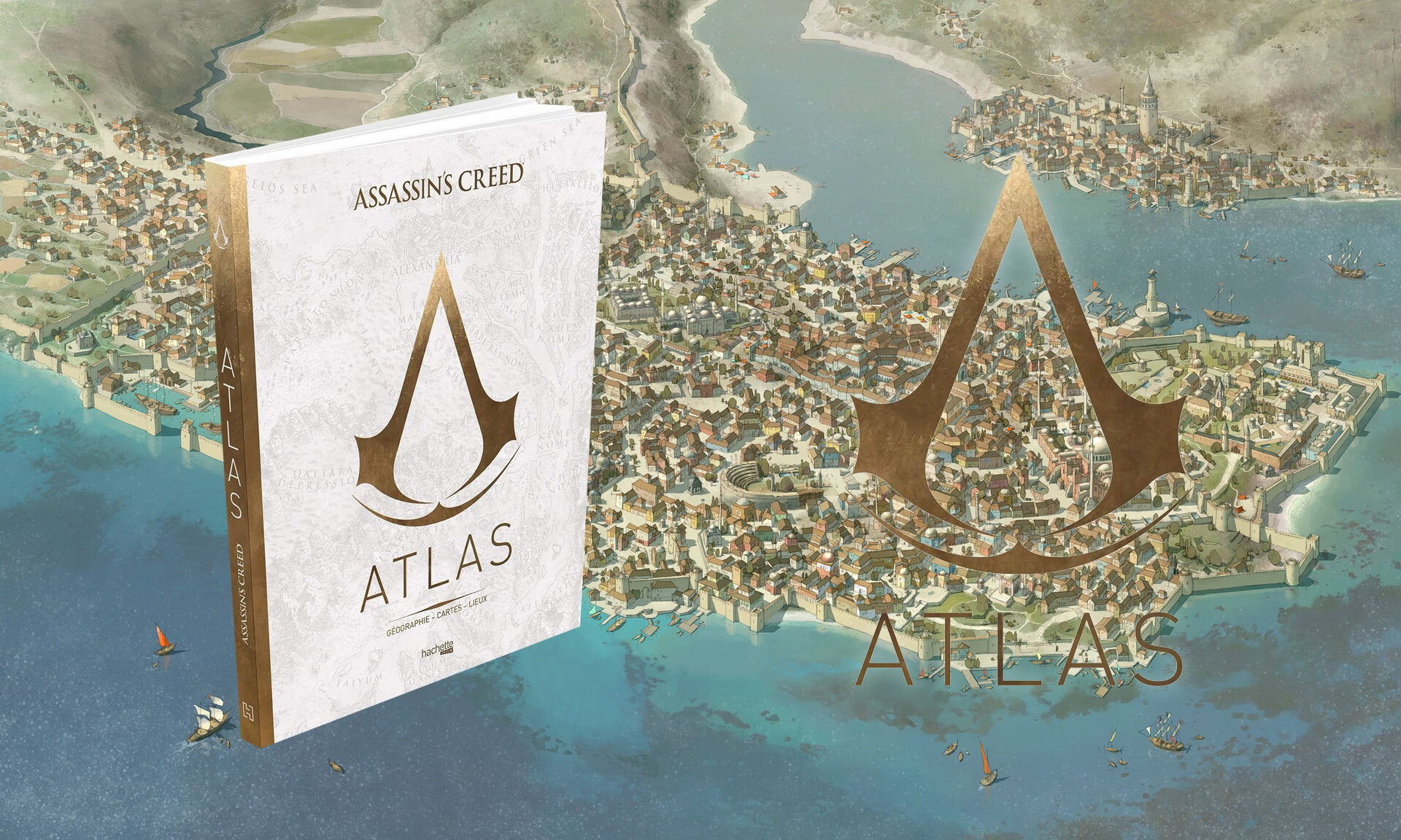 Assassin's Creed: Atlas Book Out Now!