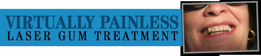 Gum disease treatment, dental laser, lanap gum laser