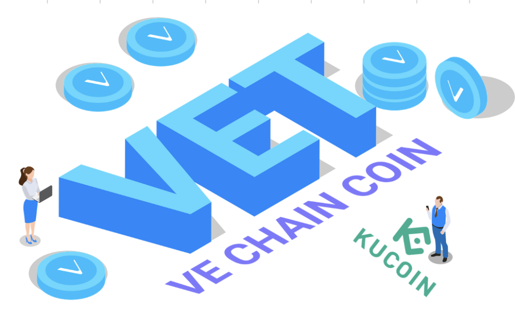 Find the next crypto gem on KuCoin VeChain VET VTHO Exchange buy purchase crypto cryptocurrency
