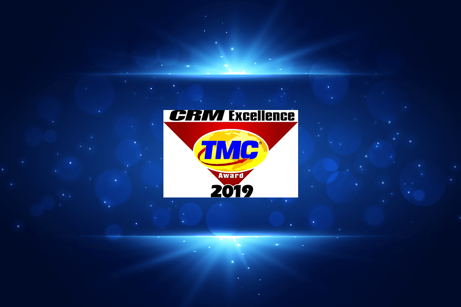 VOZIQ-Awarded-a-2019-CRM-Excellence-Award