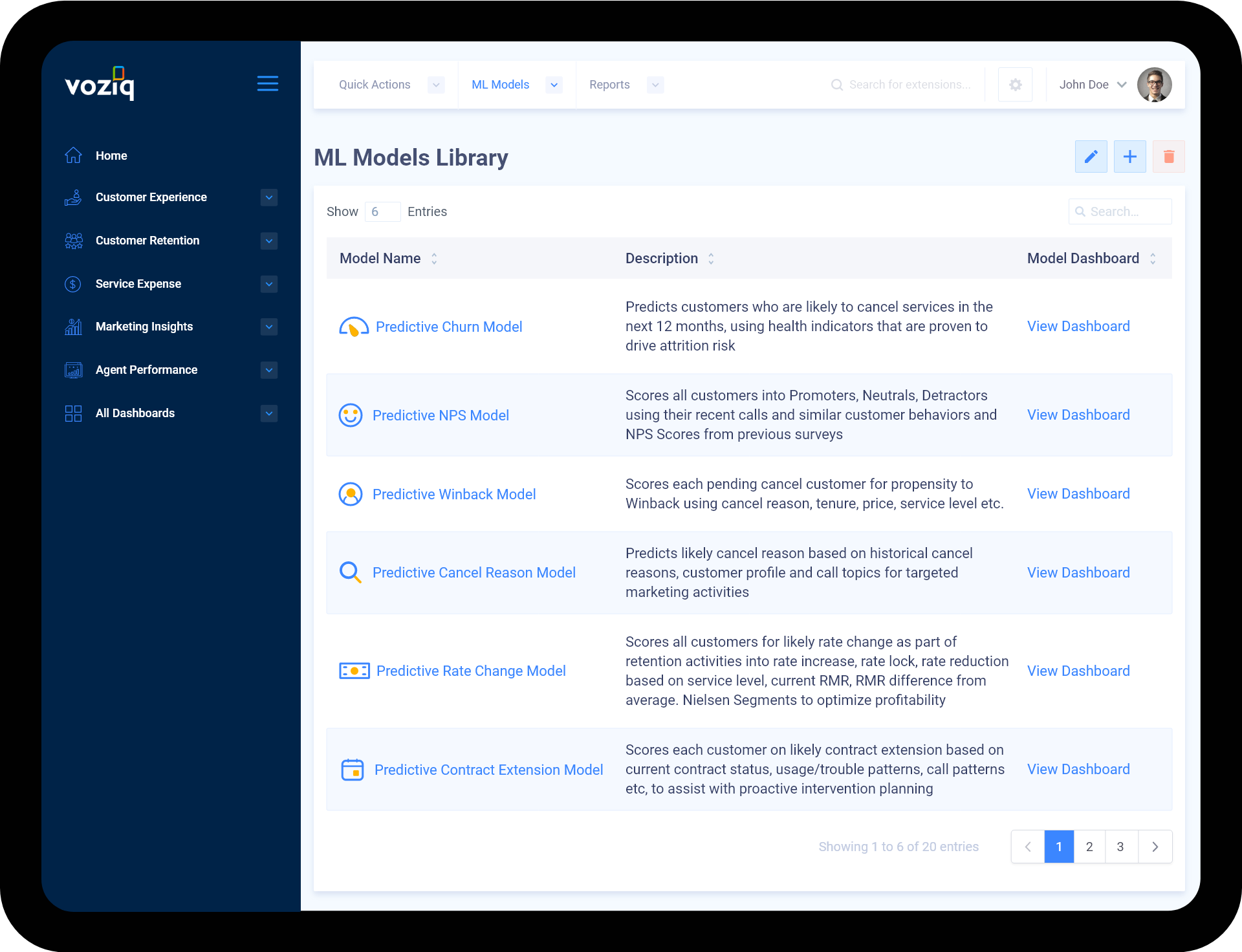 ML Models Library – 1