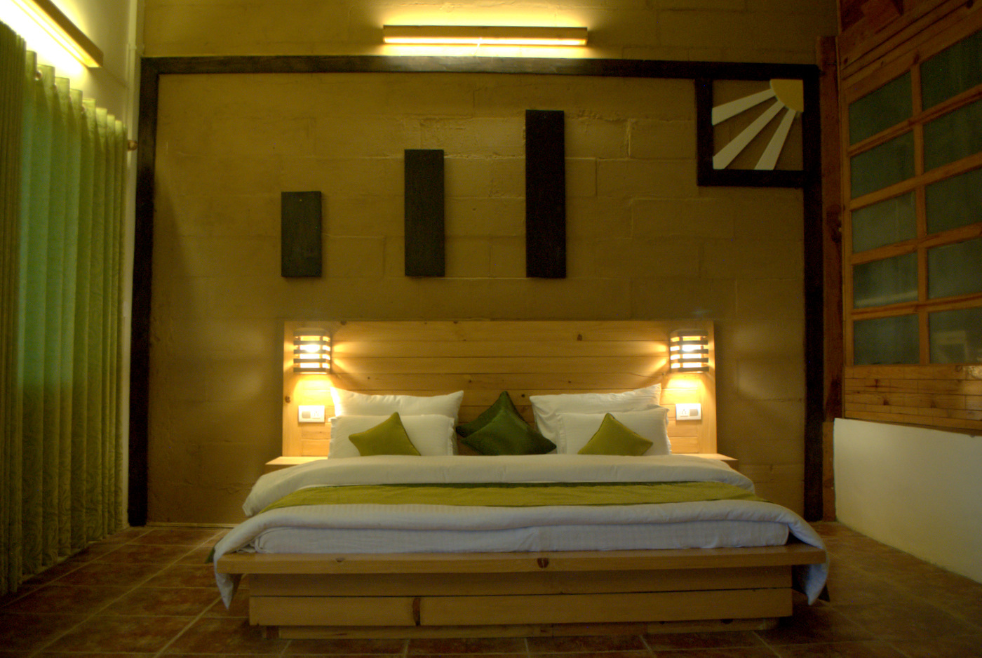 Oak Duplex Suites  - Bedroom