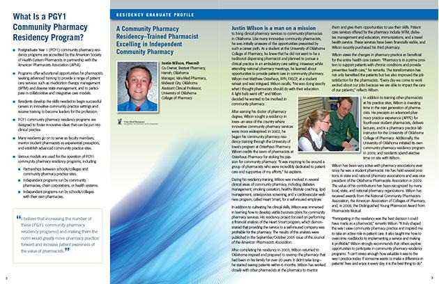 Brochure for Pharmacy Residency Program