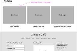 Chhaya-wireframe-menus