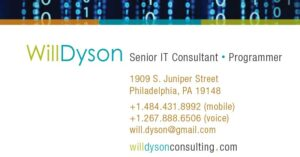 will dyson business cards