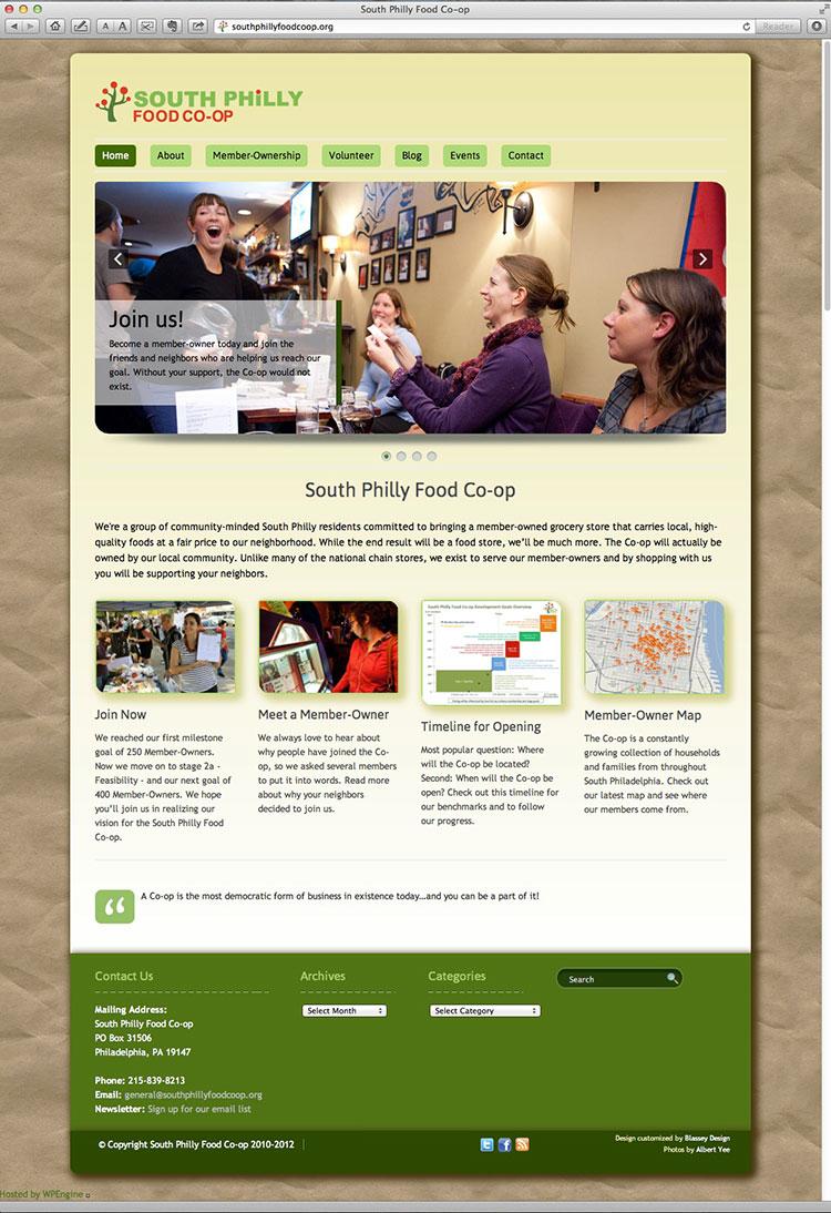 Neighborhood Food COOP Website