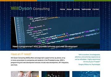Computer Consultant Website