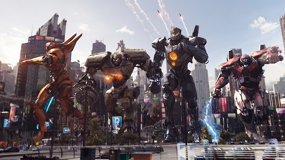 Pacific Rim Uprising 2018 Jesters Reviews