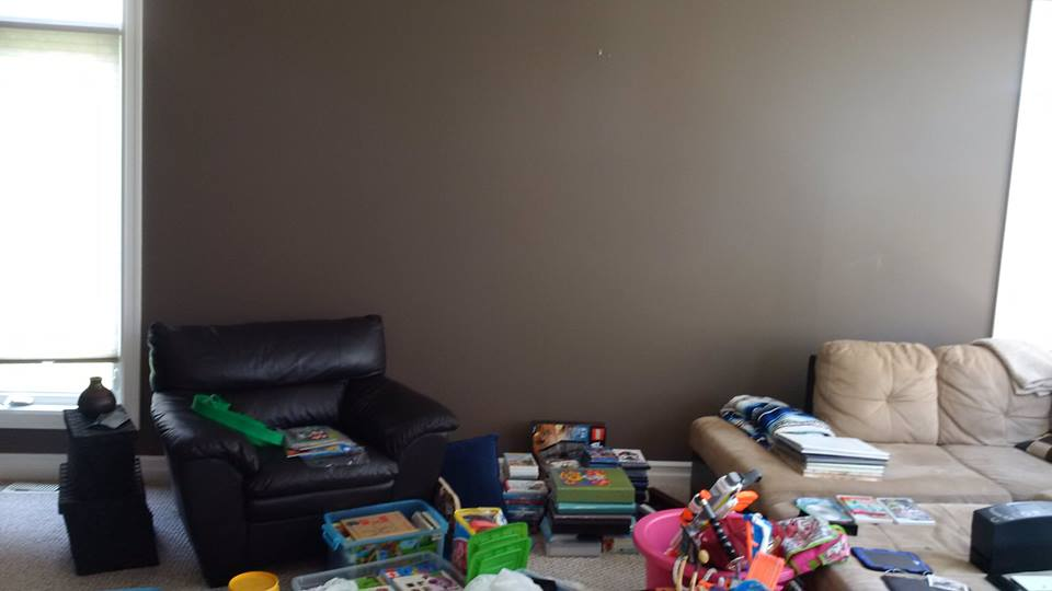 Interior Decorator To The Rescue! A Hectic Lifestyle, A Peaceful Home | a chaotic toy room | MatiDesign Interior Decorating And Home Staging London Ontario
