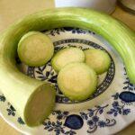 Zucchini Rampicante sliced (my pic)