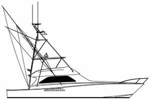 A Viking 56 with outriggers linedrawing gift idea personalized sunshirts your boat photograph performance apparel custom picture giftideas dye sublimation linedrawings boater boat lineart specifications boatiquegraphics fishing center console yachts cruisers sportfishing walkaround sailboat sailing yacht designmyshirt boatique graphics designmyshirt design tshirts shirts clipart clip art boat gift sketch vectors beach team wear cancer skin upf sunmoisture wicking longsleeve lightweight coolingtech tournament raceteam crew sunshirt