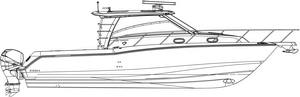 A Boston Whaler 345 cc linedrawing gift idea personalized sunshirts your boat photograph performance apparel custom picture giftideas dye sublimation linedrawings boater boat lineart specifications boatiquegraphics fishing center console yachts cruisers sportfishing walkaround sailboat sailing yacht designmyshirt boatique graphics designmyshirt design tshirts shirts clipart clip art boat gift sketch vectors beach team wear cancer skin upf sunmoisture wicking longsleeve lightweight coolingtech tournament raceteam crew sunshirt