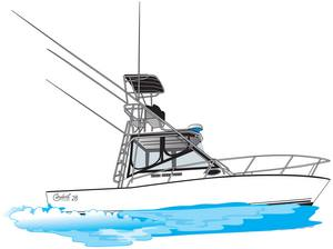 A Carolina 28 ft linedrawing gift idea personalized sunshirts your boat photograph performance apparel custom picture giftideas dye sublimation linedrawings boater boat lineart specifications boatiquegraphics fishing center console yachts cruisers sportfishing walkaround sailboat sailing yacht designmyshirt boatique graphics designmyshirt design tshirts shirts clipart clip art boat gift sketch vectors beach team wear cancer skin upf sunmoisture wicking longsleeve lightweight coolingtech tournament raceteam crew sunshirt