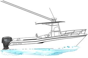 A grady white 23 ft linedrawing gift idea personalized sunshirts your boat photograph performance apparel custom picture giftideas dye sublimation linedrawings boater boat lineart specifications boatiquegraphics fishing center console yachts cruisers sportfishing walkaround sailboat sailing yacht designmyshirt boatique graphics designmyshirt design tshirts shirts clipart clip art boat gift sketch vectors beach team wear cancer skin upf sunmoisture wicking longsleeve lightweight coolingtech tournament raceteam crew sunshirt