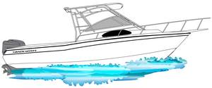 A grady white 28 ft linedrawing gift idea personalized sunshirts your boat photograph performance apparel custom picture giftideas dye sublimation linedrawings boater boat lineart specifications boatiquegraphics fishing center console yachts cruisers sportfishing walkaround sailboat sailing yacht designmyshirt boatique graphics designmyshirt design tshirts shirts clipart clip art boat gift sketch vectors beach team wear cancer skin upf sunmoisture wicking longsleeve lightweight coolingtech tournament raceteam crew sunshirt