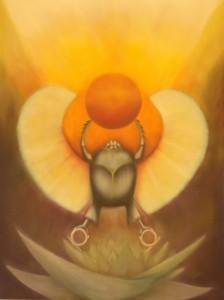 Tarot of the Morning Star Kephera Egyptian God, Left Hand Path Tarot deck, Lucifer tarot deck