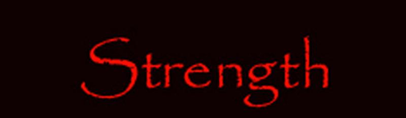 strength banner