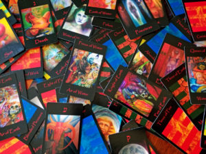 Tarot Oracle. Tarot of the Morning Star second edition is a deck of 78 cards. Created by Minneapolis visual artist Roger Williamson