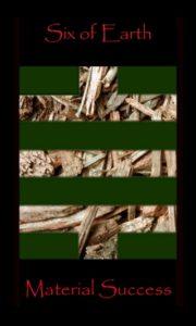Tarot Oracle, 6 Earth Layout
