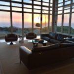 Prow House sunset lamp
